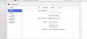 Xcode7 - Address Sanitizer